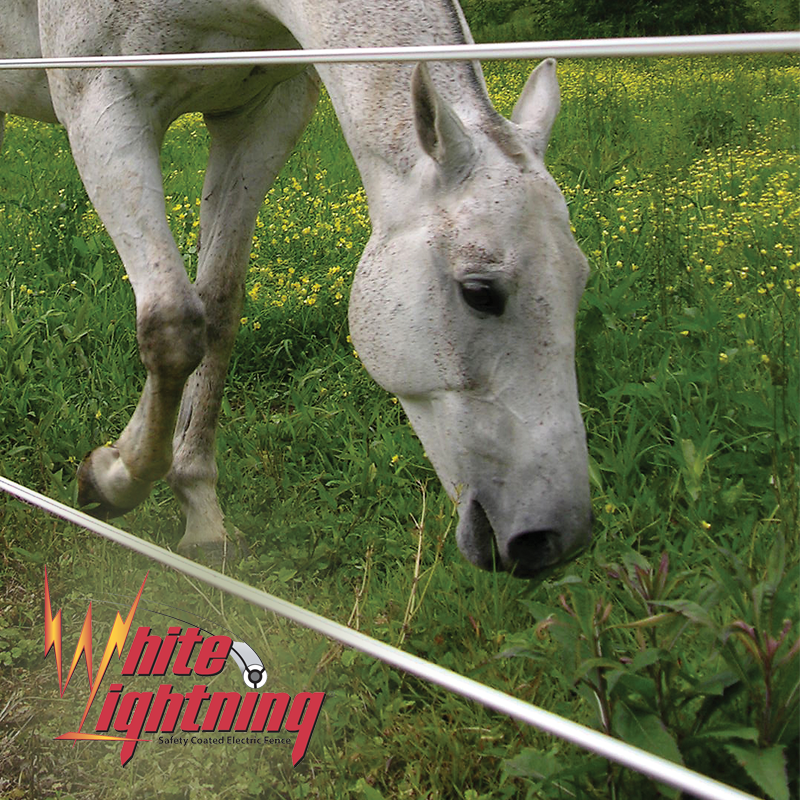 White Lightning® Fence
